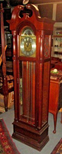 RIDGEWAY CENTENNIAL STATUE OF LIBERTY GRANDFATHER CLOCK LIMITED EDITION 1986