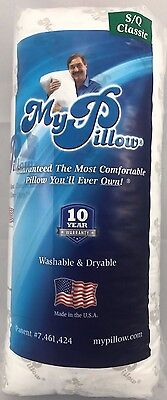 My Pillow Classic Queen Size Firm Fill Bed Pillow as Seen on TV Sale Ship today!