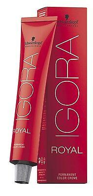 Schwarzkopf IGORA ROYAL Haarfarbe Rottöne  60 ml