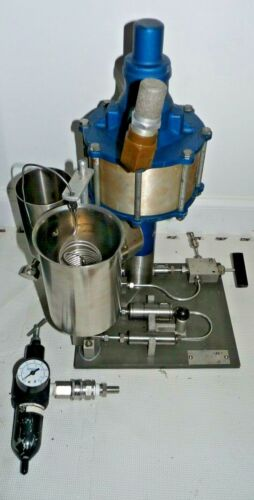 Microfluidics 110 Y Microfluidizer Processor for Micro-Mixing High Pressure Lab