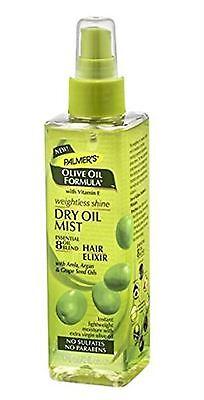 Palmer's Olive Oil Formula Weightless Shine Dry Oil Mist, 6