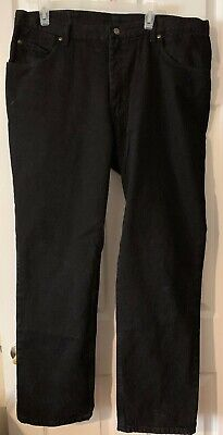 Lee Men's Regular Fit Denim Black Heavy Weight Jeans Straight Leg Sz 40X32 NWT  ()