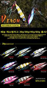 NEW-Payo-Venom-30-gram-Seabass-Casting-Trolling-spoon-with-assist-hooks
