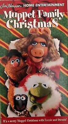A Muppet Family Christmas(VHS 1998)TESTED-RARE VINTAGE COLLECTIBLE-SHIP N 24 HRS ()