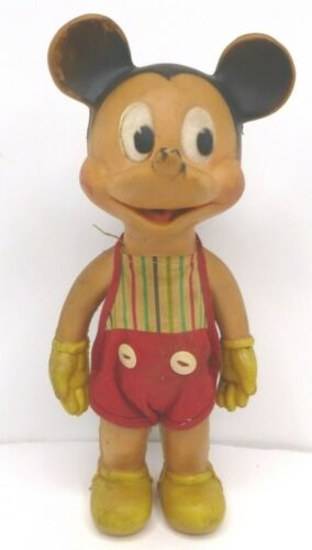 Vintage Walt Disney Productions Mickey Mouse squeeze toy - Sun Rubber Co