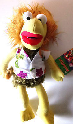 Large Fraggle Rock Muppets Wembley 15'' Plush Stuffed Toy .Licensed. NWT. USA - Rock Toys