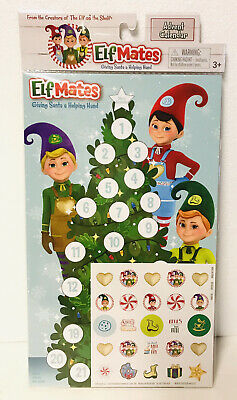 Elf Mates Advent Calendar Elf On The Shelf Christmas Countdown Holiday Gift