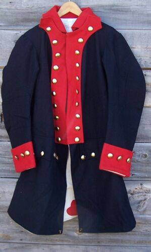 Revolutionary War Continental Army Regimental Frock Coat 50
