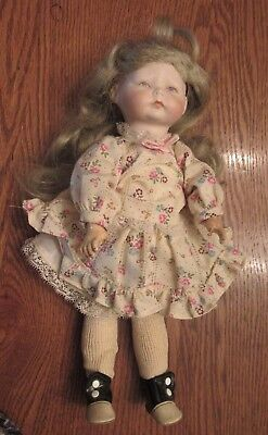 """8/"""" Compo Doll Body Seeley/'s Dollmaker/'s Pattern #MP31 SHOES /& CROCHETED SOCKS"""