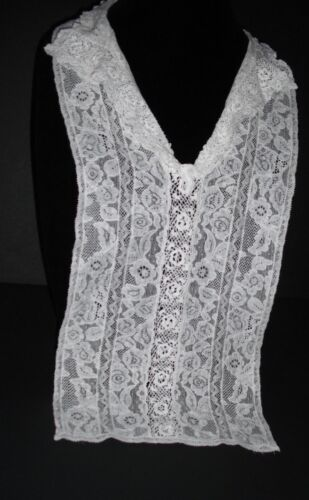 Beautiful Vintage Antique Victorian Lace Collar/dickie