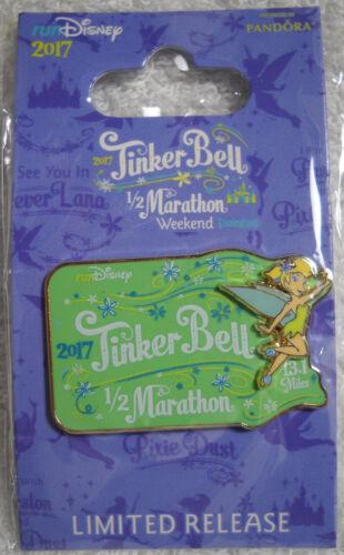 DLR - RunDisney - 2017 Tinker Bell Half Marathon Weekend - 1/2 Marathon Pin NEW