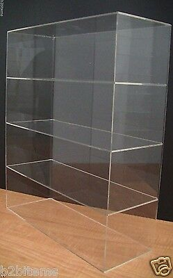 Acrylic Counter Top Display Case 16 X 6 X 19 Show Case Cabinet Shelves