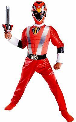 Power Rangers RPM Red Ranger Muscle Costume Size 7-8 New Medium M - Power Rangers Rpm Costume