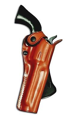 Leather OWB Paddel Holster For Colt Single Action Army 45/357 Mag 2.5