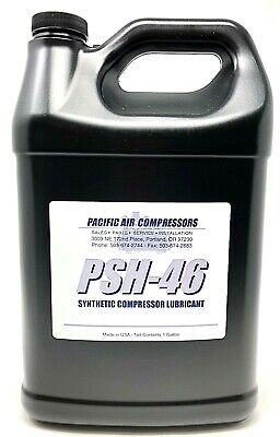 1 Gallon 36899698 Rotary Screw Air Compressor Synthetic Oil Pao46 Lubricant