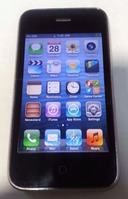 Apple iPhone 3GS 32GB White (FACTORY UNLOCKED) Good Condition iPhone Only