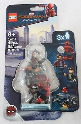 LEGO 40343 Marvel Spider-Man Far From Home Minifigure Pack 49pcs New