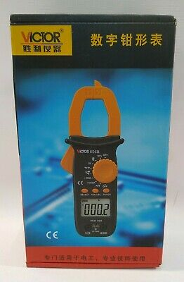 Digital Clamp Meter Tester 606 Ac Dc Volt Amp Multimeter Auto Ranging Current