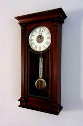Howard Miller Sinclair Wall Clock 625-524 – Wood, Quartz & Triple-Chime Movement