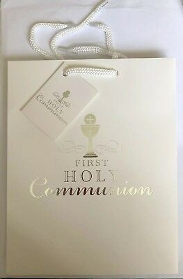 First Holy Communion Gift Bag - 1st Communion - Medium Portrait