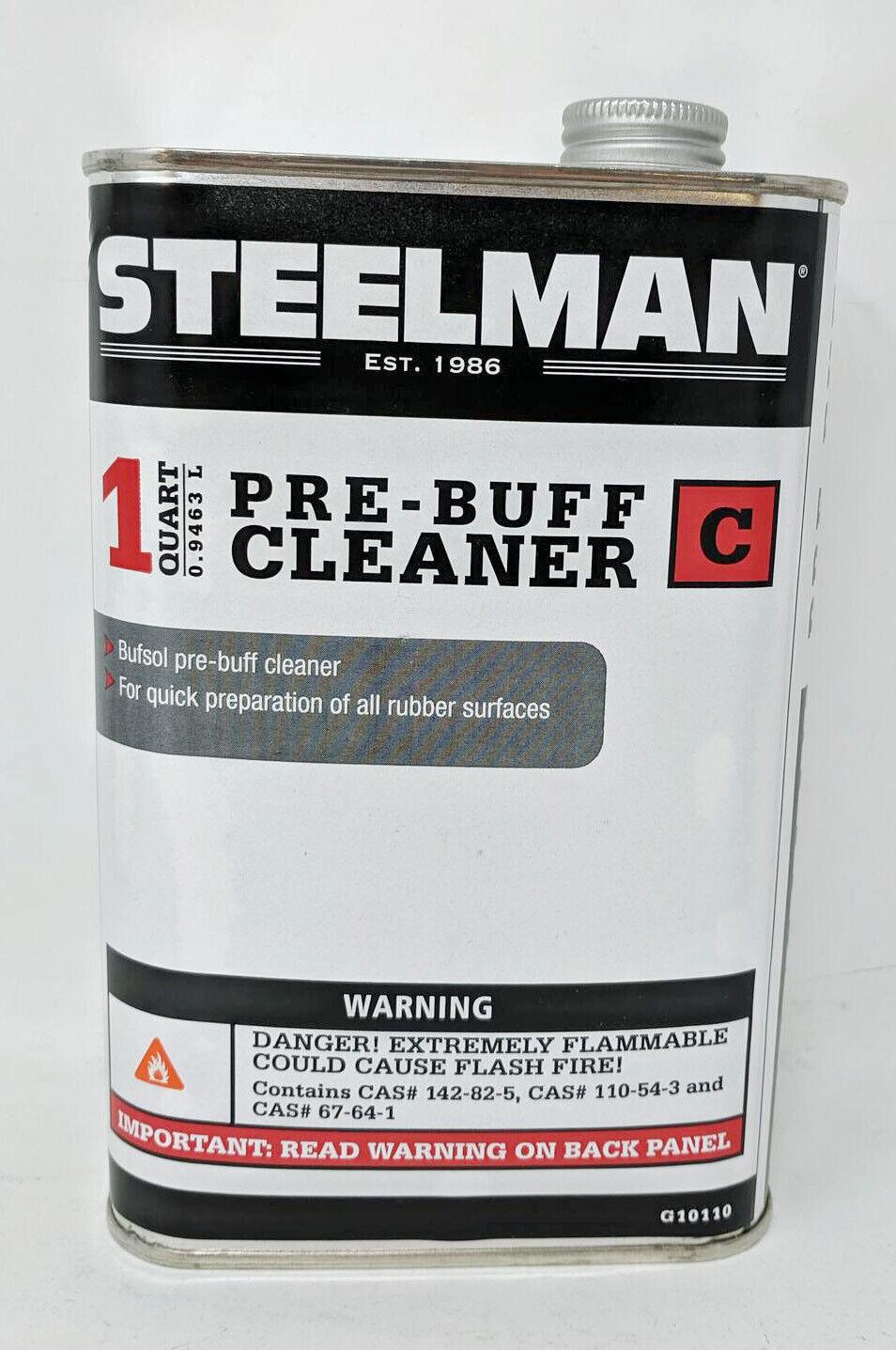 STEELMAN G10110 Bufsol Pre-Buff Cleaner - 1 Quart