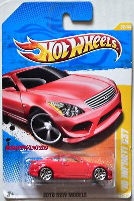 Hot Wheels 2010 Neu Modelle '10 Infiniti G37 #32/44 Rot ()