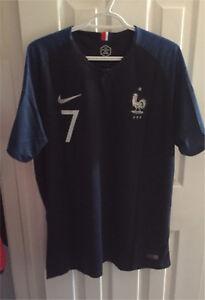 Griezmann France World Cup Jersey XL New