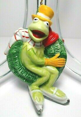 Kermit The Frog Vintage 1980 Porcelain Sigma The Tastesetter Jim Henson Ornament