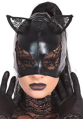 Katzenmaske Wetlook Katzen Maske Cat Deluxe Lack edel - Spitze Katze Maske