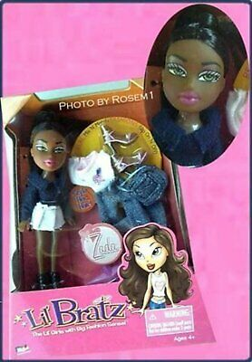 new 2004 lil BRATZ mini ZADA MIX N MATCH FASHIONS doll