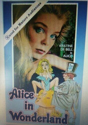 Alice in Wonderland, Kristine DeBell, Lewis Carroll, Uncut Uncensored 1976 (DVD)