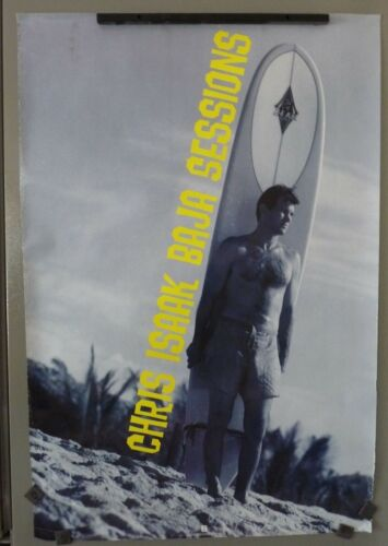 Chris Isaak Sexy Baja Session 1995 Rare Promo 24x36 Poster
