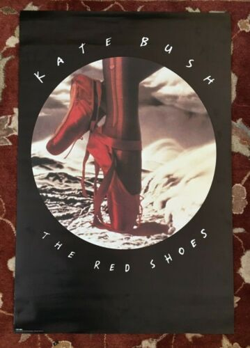 KATE BUSH  The Red Shoes  rare original promotional poster from 1993