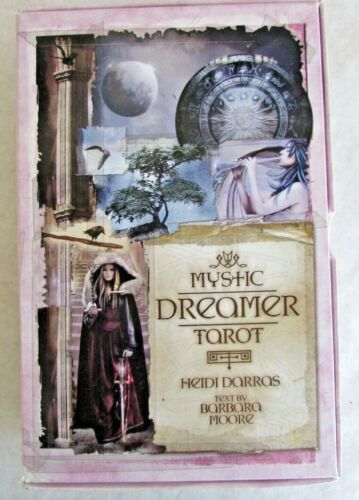 Mystic Dreamer Tarot Deck & Book Set - Fortune Telling Occult Oracle Cards