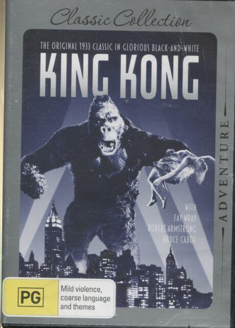 KING KONG -   Fay Wray, Robert Armstrong, Bruce Cabot-  DVD