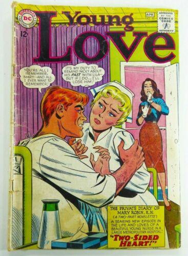 DC Comics YOUNG LOVE (1965) #48 Silver Age ROMANCE Nurse Cover Ships FREE!