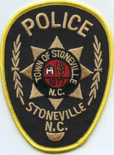 STONEVILLE NORTH CAROLINA NC POLICE PATCH
