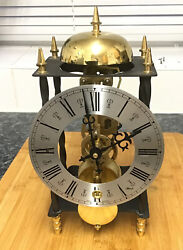 Antique Style Hermle Passing Strike Chime Skeleton mantle Clock