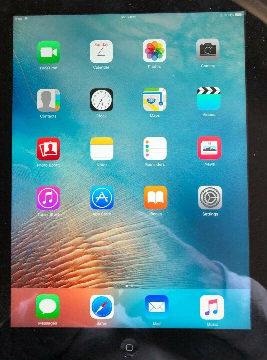 Apple IPad 2 2nd Gen 16GB Wi-Fi 9.7in Black Very Good Condition MC960LL/A A1395 - $29.99