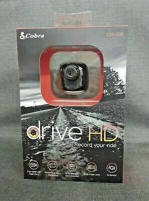 Cobra CDR 820 Drive HD 5 MP 1080p Ultra Compact Dash Camera