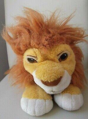 Disney Der König der Löwen Simba Mattel 1993 Disney Company Stofftier Handpuppe (König Der Löwen Puppe)
