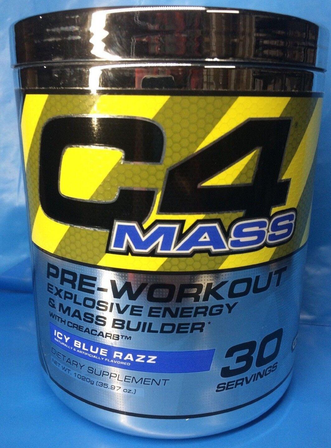 c4 mass pre workout energy mass builder