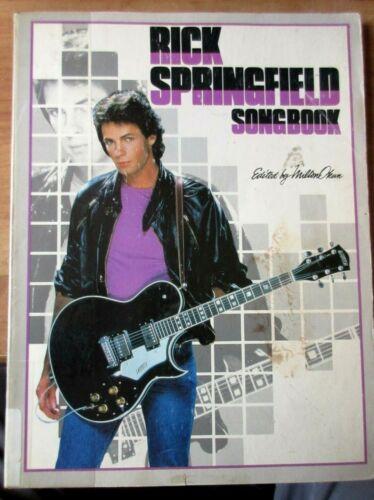 Rick Springfield Songbook  Rare 1982
