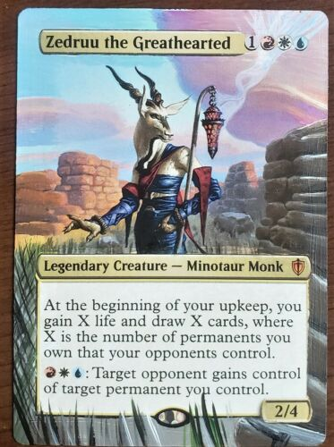Zedruu the Greathearted - Full Art / Altered