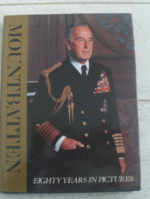 Mountbatten-80 years in pictures-1979 book-Prince Philip's Uncle & Viceroy India