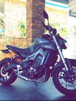 Yamaha mt09 2015 Bundall Gold Coast City Preview