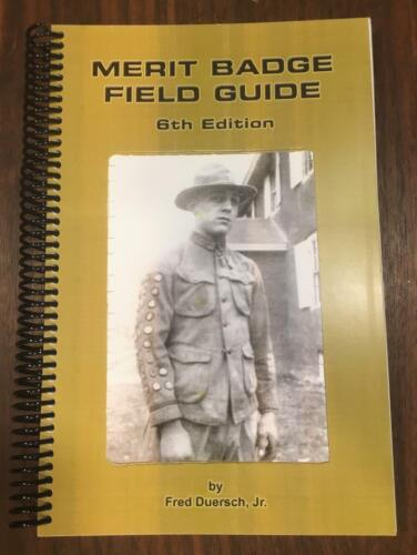 BSA BOY SCOUT MERIT BADGE COLLECTING FIELD GUIDE BOOK NEW COLOR 2018 6TH EDITION