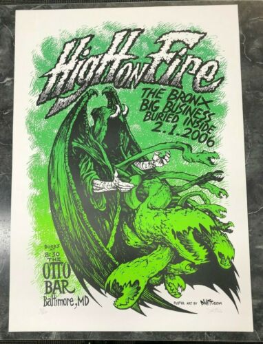 Dwitt - 2006 - High On Fire Green Reaper W/ The Bronx, Big Business @ Otto Bar