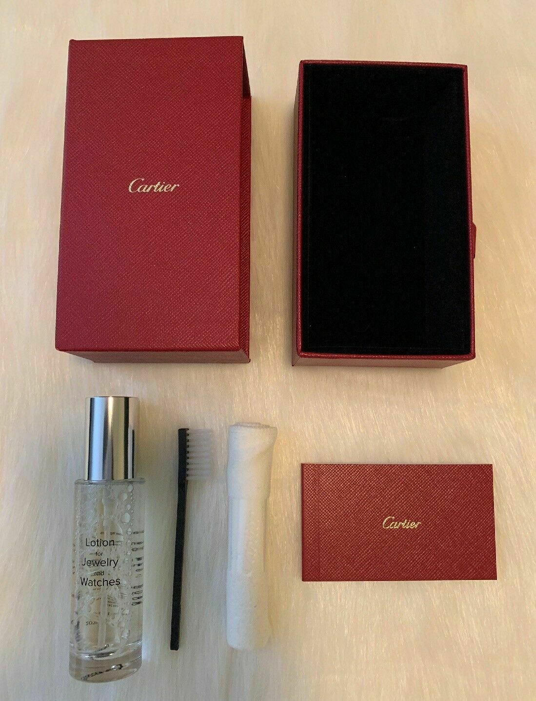 Authentic Cartier Jewelry Watch Cleaner Cleaning Kit