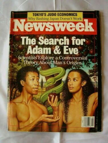 MAGAZINE NEWSWEEK THE SEARCH FOR ADAM & EVE JANUARY 11 1988 MAN